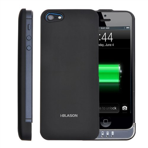 Luxmo Black Maxboost Battery Case For Iphone 4 4s